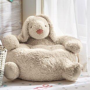 Tag Bunny Plush Kids Chair