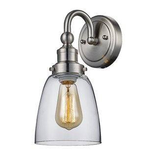 Find Annabelle 1-Light Armed Sconce By Charlton Home