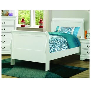 Guay Low Profile Sleigh Bed by Alcott Hill