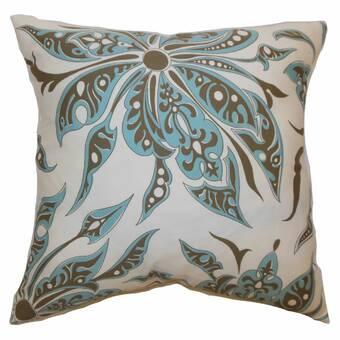 The Pillow Collection 100 Cotton Throw Pillow Wayfair