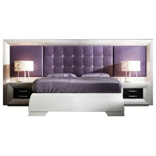 Glenoe Special Headboard Platform 4 Piece Bedroom Set