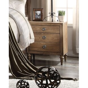 Bargain Caudell 3 Drawer Nightstand by Gracie Oaks