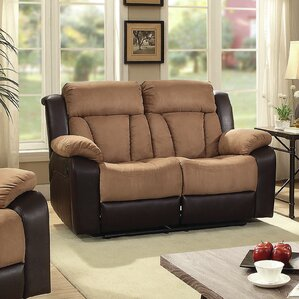 Pavonis Reclining Loveseat by Latitude Run