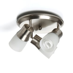 3-Light Semi Flush Mount Spot Light by Symple Stuff
