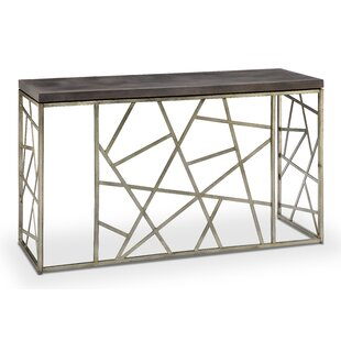 Kyzer Rectangle Console Table By Mercury Row