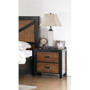 Gordan 2 Drawer Nightstand