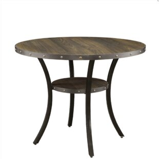 Rigby Round Counter Height Dining Table by Alcott Hill Spacial Pricet