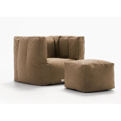 Sensational Comfort Research Big Joe Lux Bean Bag Chair Upholstery Pecan Ibusinesslaw Wood Chair Design Ideas Ibusinesslaworg