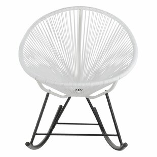 Acapulco Woven Basket Rocking Chair