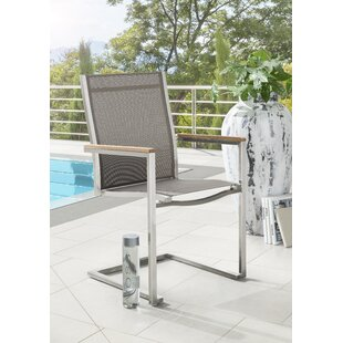 Crigger Stacking Garden Chair By Mercury Row