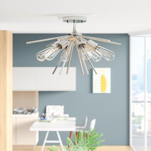 Berryhill 6-Light Semi Flush M..
