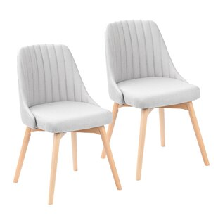Shellson Upholstered Dining Chair (Set of 2)