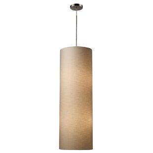 Bungalow Rose Maloof 4-Light Cylinder Pendant