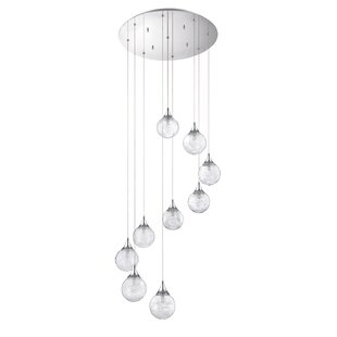 Chesterton 9-Light Cascade Pendant by Wade Logan