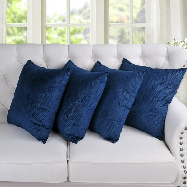 Mercer41 Delgadillo Ikat Throw Pillow Cover Reviews Wayfair
