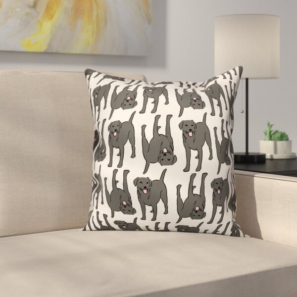 Christmas Pillows Black Labs Wayfair