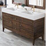Mosley 58.75 Double Bathroom Vanity Set by AllModern