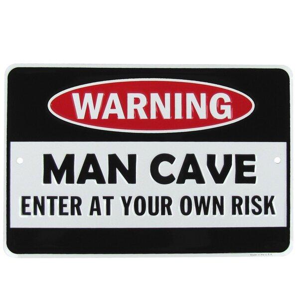 WARNING SENSE OF HUMOR SIGN HOT RODS SHOP GARAGE  MAN CAVE BAR RESTAURANT
