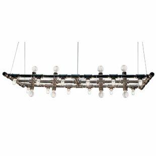 Adelita 20-Light Rectangle Chandelier by Trent Austin Design