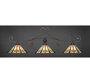 Copeland 3-Light Billiard Pendant by Astoria Grand