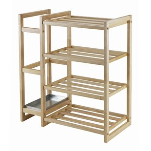 Winsome Isabel 4-Tier Shoe Rack