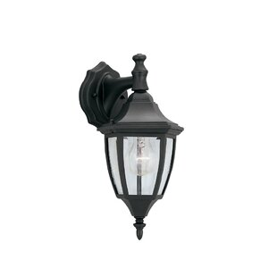 Slusser Traditional 1-Light Outdoor Wall Lantern by Charlton Home