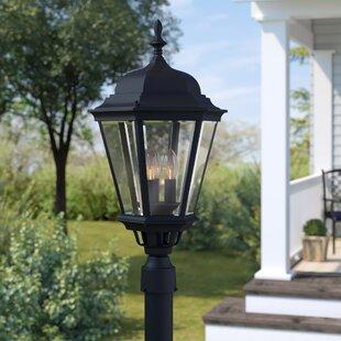 Listermann Cast Outdoor 3-Light Lantern Head by Alcott Hill