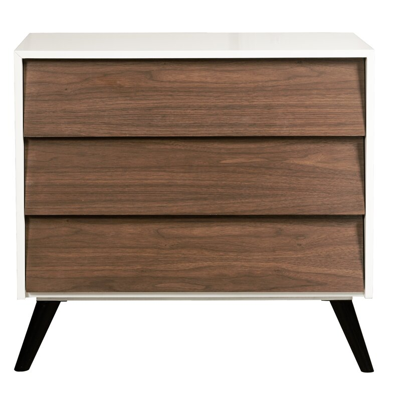 Mcpherson 3 Drawer Accent Chest Allmodern