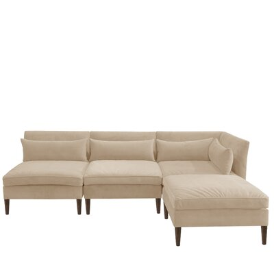 Alayna Modular Reversible Sectional with Ottoman by Brayden Studio