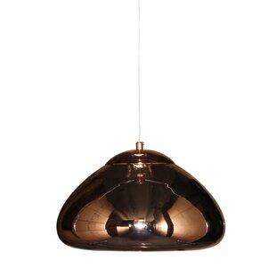 Wrought Studio Grogg 1-Light Cone Pendant
