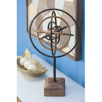 Wrought Studio Ringling Metal Geometric Decoration Wayfair