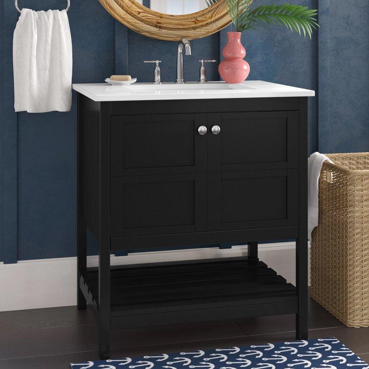 Beachcrest Home Whalton 30 Single Bathroom Vanity Set Reviews Wayfair