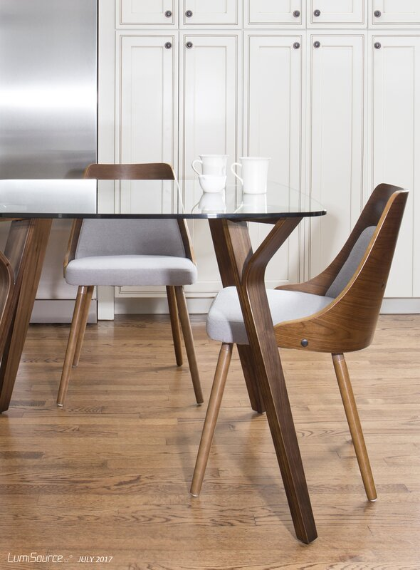 Union Rustic Thornton Mid-Century Modern Dining Table & Reviews ...