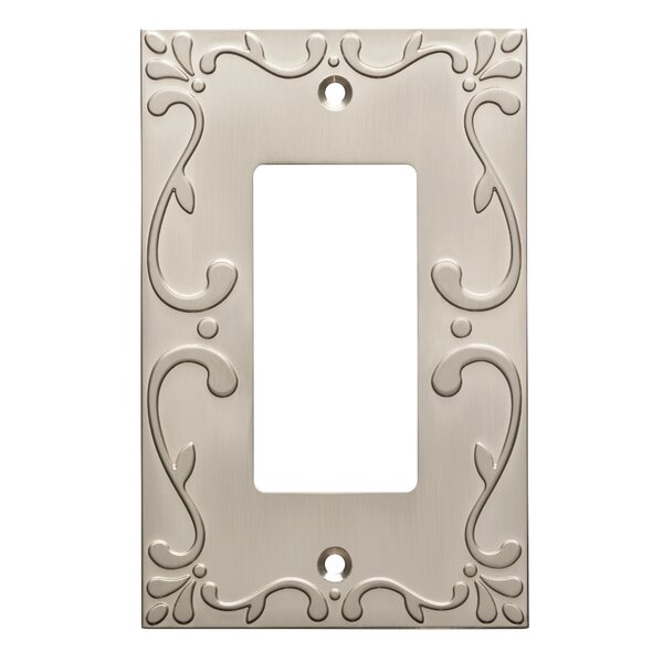 Franklin Brass Classic Lace Single Decorator Wall Plate u0026 Reviews | Wayfair  sc 1 st  Wayfair & Franklin Brass Classic Lace Single Decorator Wall Plate u0026 Reviews ...