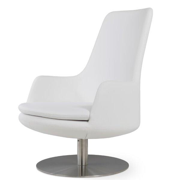 Sohoconcept Dervish High Back Round Lounge Chair Wayfair