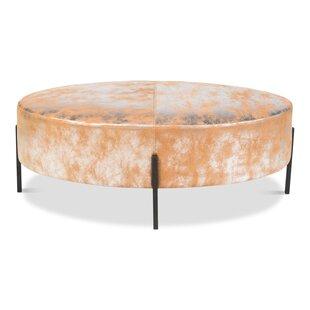 Island Leather Bench by Sarreid Ltd