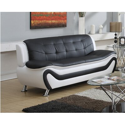 Faux Leather White Sofas You Ll Love In 2019 Wayfair