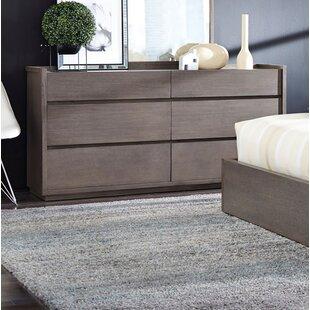 Keomi 6 Drawer Double Dresser by Brayden Studio