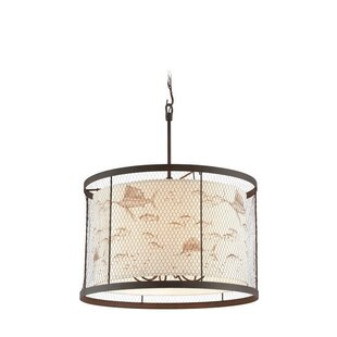 Breakwater Bay Villasenor 6-Light Drum Pendant