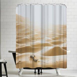 Luke Gram Sahara Desert Shower Curtain by East Urban Home