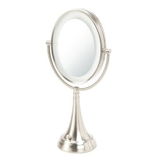 Darby Home Co Oval Vanity Mirror with LED Surround Light