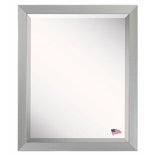 Latitude Run Rectangle Framed Wall Mirror