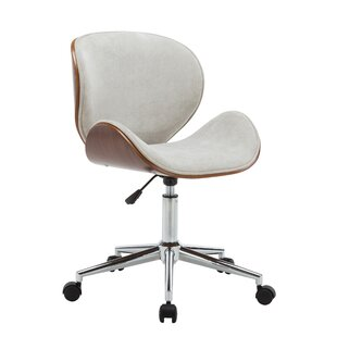 George Oliver Bridport Adjustable Office Low-Back Drafting Chair