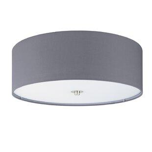 Beulah 3 Light Flush Ceiling