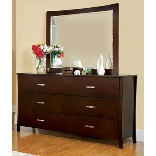 Beauregard 6 Drawer Double Dresser