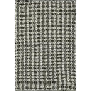 Kirchoff Hand-Woven Gray Indoor/Outdoor Area Rug By Charlton Home