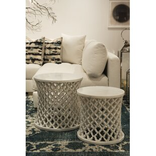 Bednar Jali End Table by Bungalow Rose