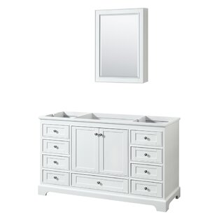 Check Prices Deborah 59.25 Single Bathroom Vanity Base Only ByWyndham Collection