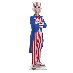 Patriotism and Politics Uncle Sam Cardboard Stand-up ByAdvanced Graphics