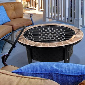 Stainless Steel Wood Burning Fire Pit